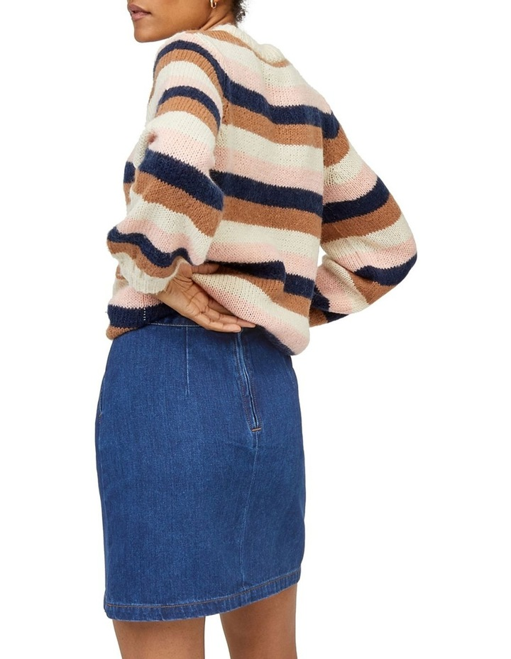 Denim A-Line Skirt image 2