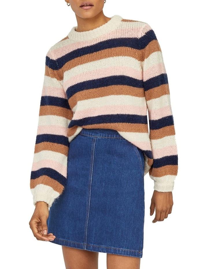 Denim A-Line Skirt image 5