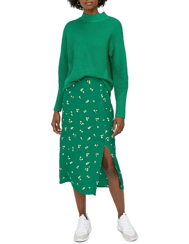 Verity Ditsy Floral Midi Skirt image 1