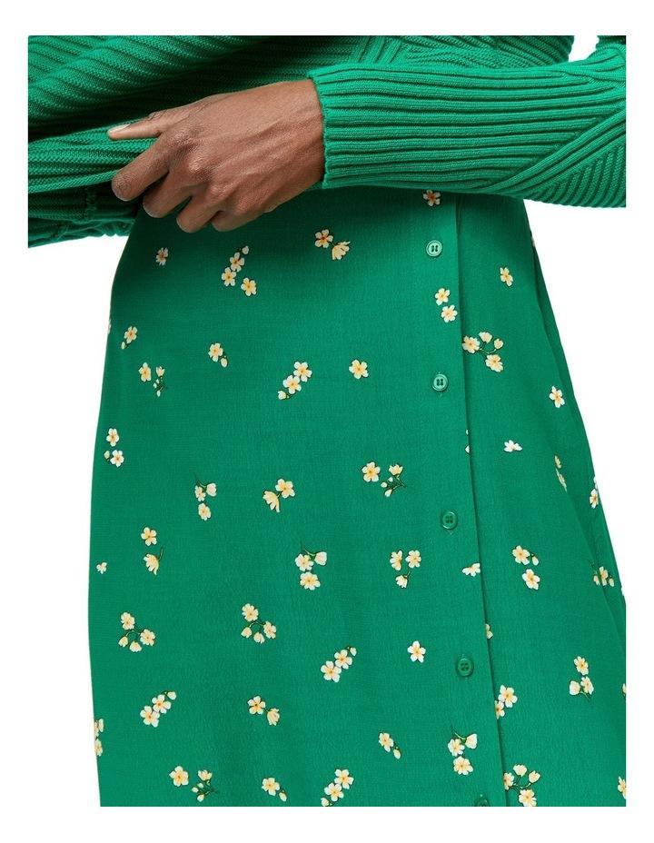 Verity Ditsy Floral Midi Skirt image 3