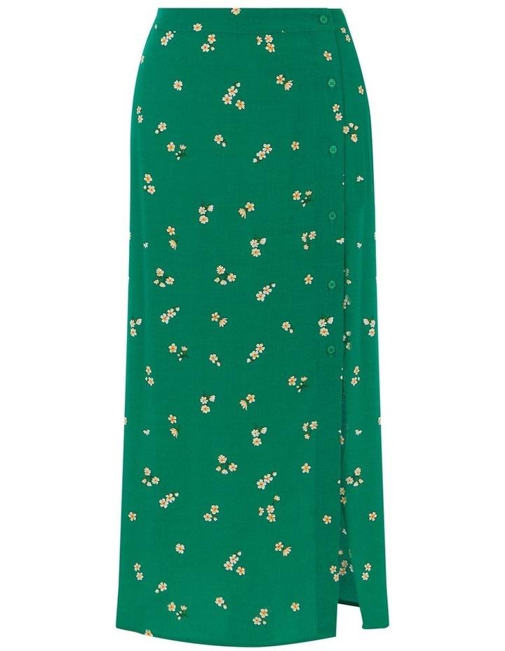 Verity Ditsy Floral Midi Skirt image 4