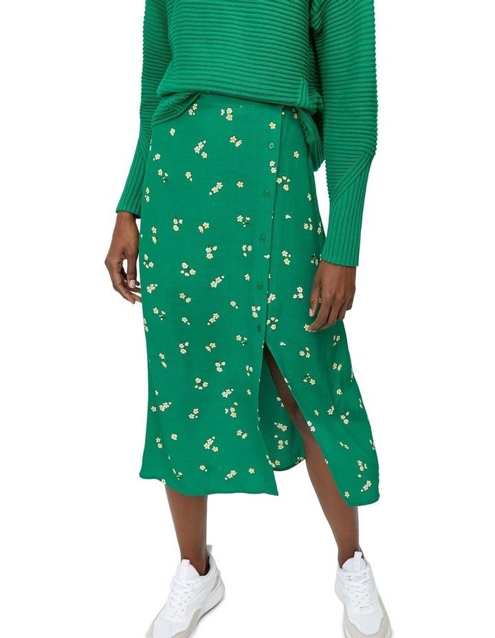Verity Ditsy Floral Midi Skirt image 5