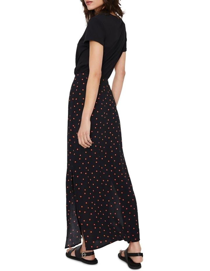 Spot Button Through Midi Skirt image 2