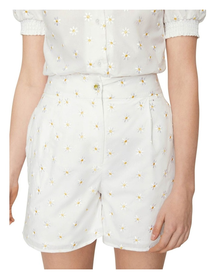 Shrimps Daisy Embroidered Short image 1
