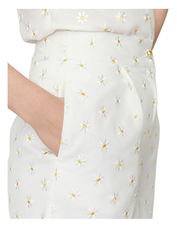 Shrimps Daisy Embroidered Short image 3