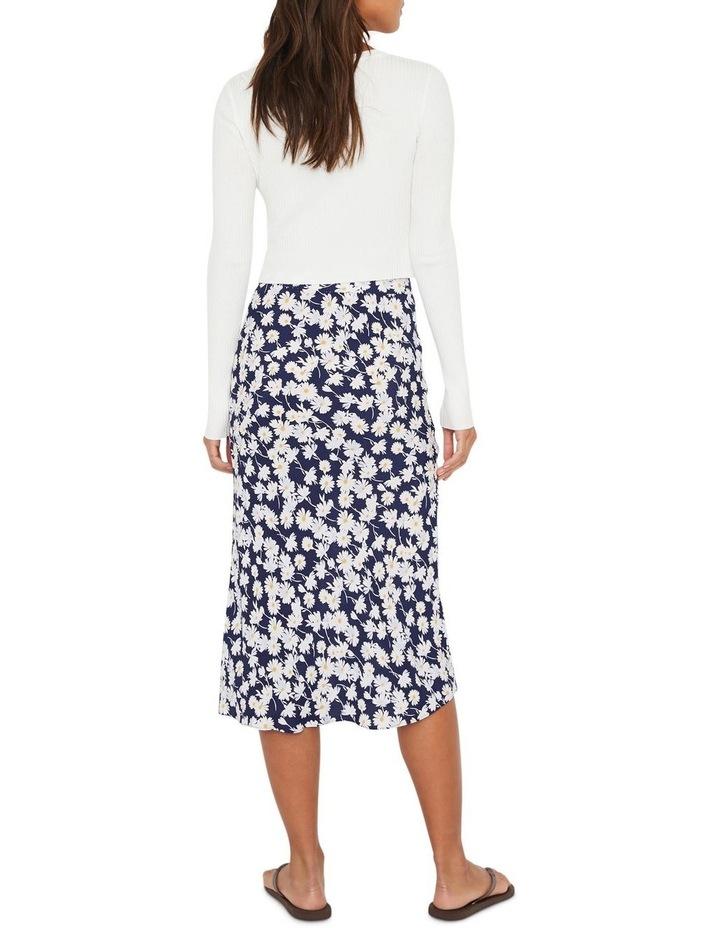 Daisy Bias Cut Skirt image 2