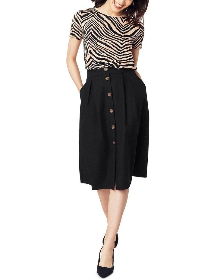 Button Through Midi Skirt image 1