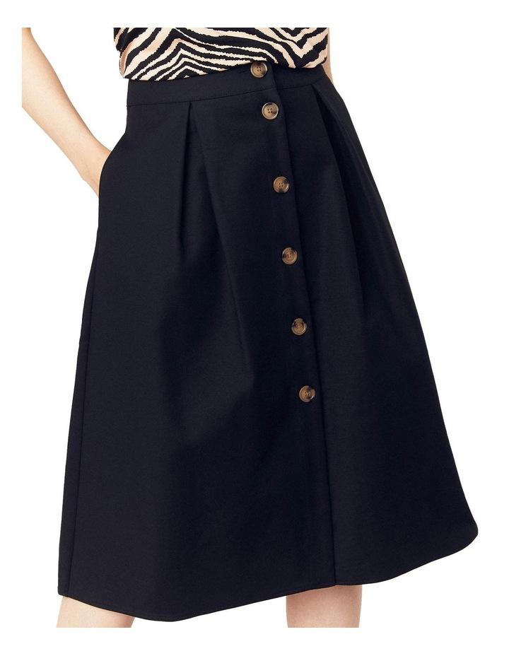 Button Through Midi Skirt image 3