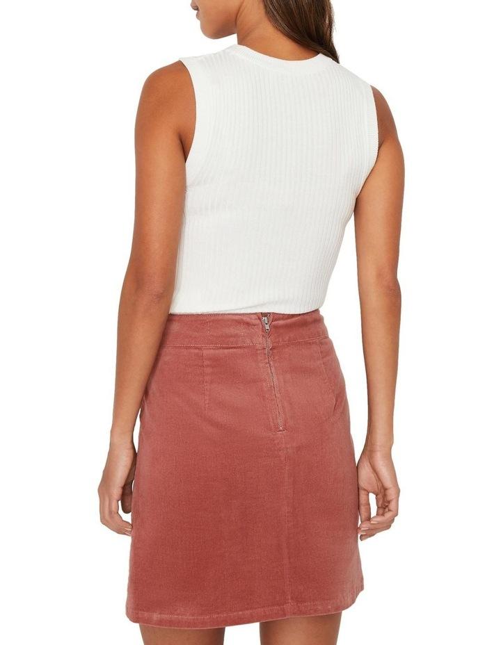 Cord Pelmet Skirt image 2