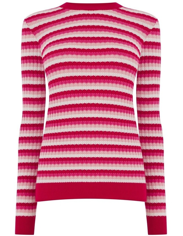 Stripe Stitch Jumper image 3