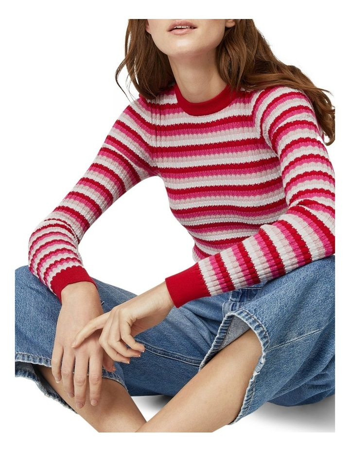 Stripe Stitch Jumper image 4