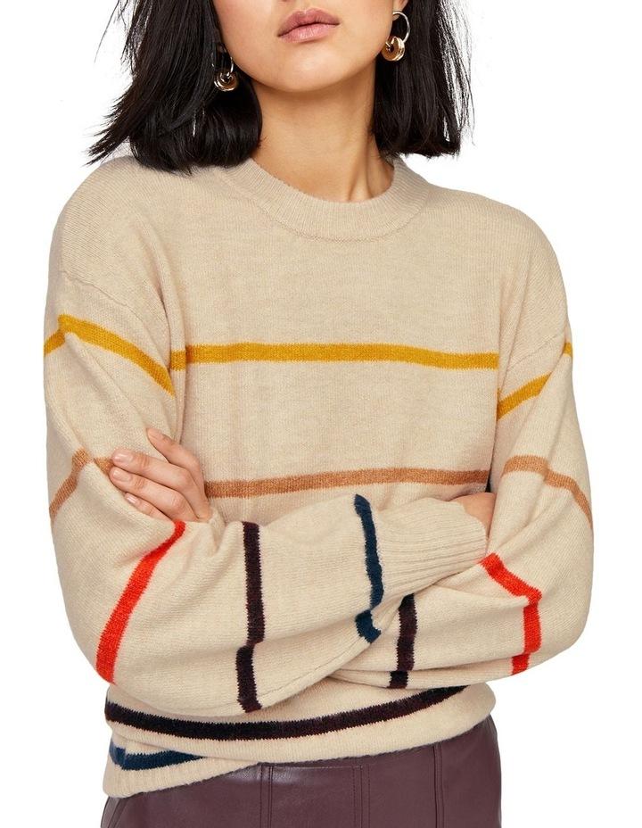 Cosy Fine Stripe Jumper image 1