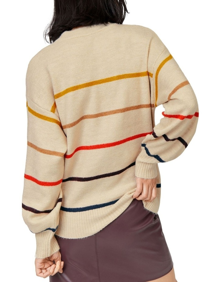 Cosy Fine Stripe Jumper image 2