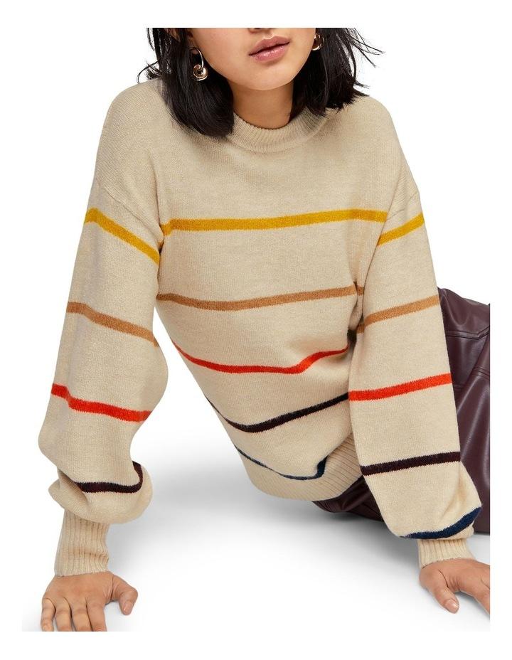 Cosy Fine Stripe Jumper image 3