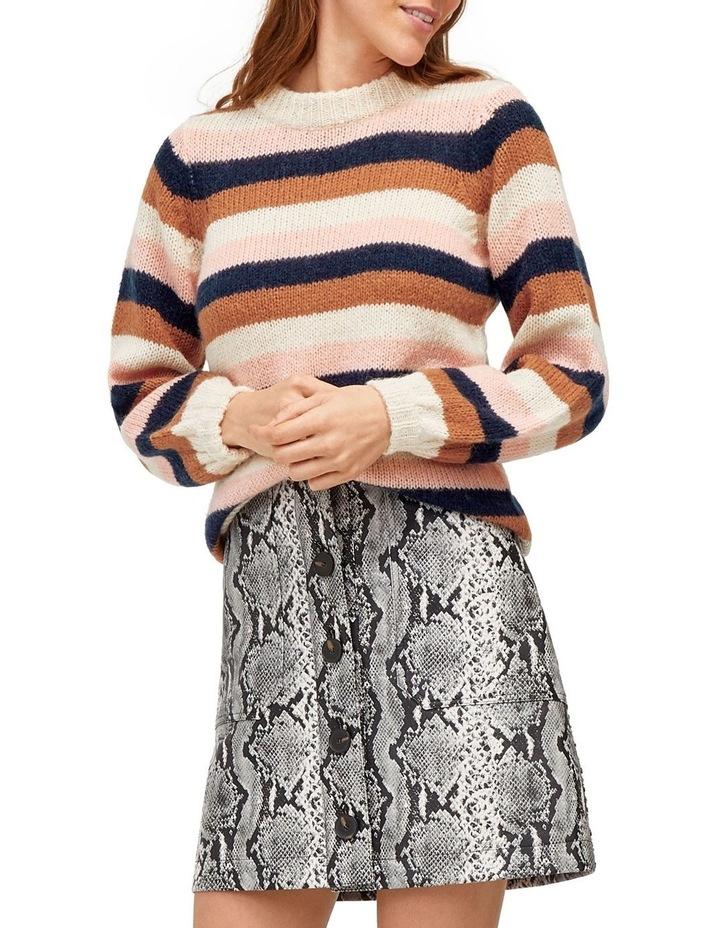Chunky Stripe Jumper image 5