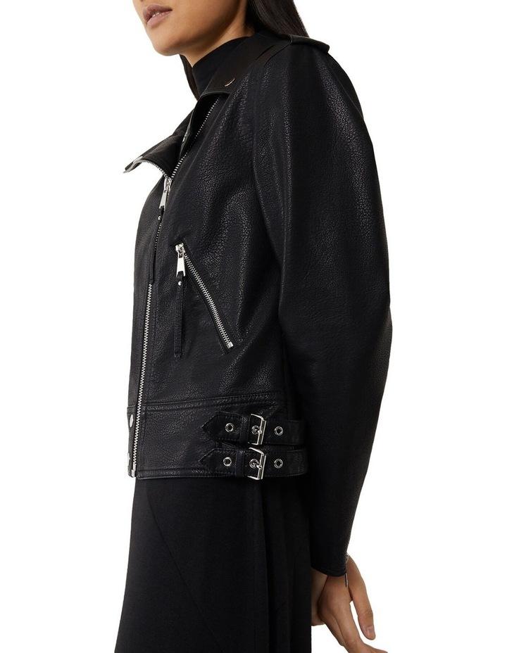 Pu Biker Jacket image 4