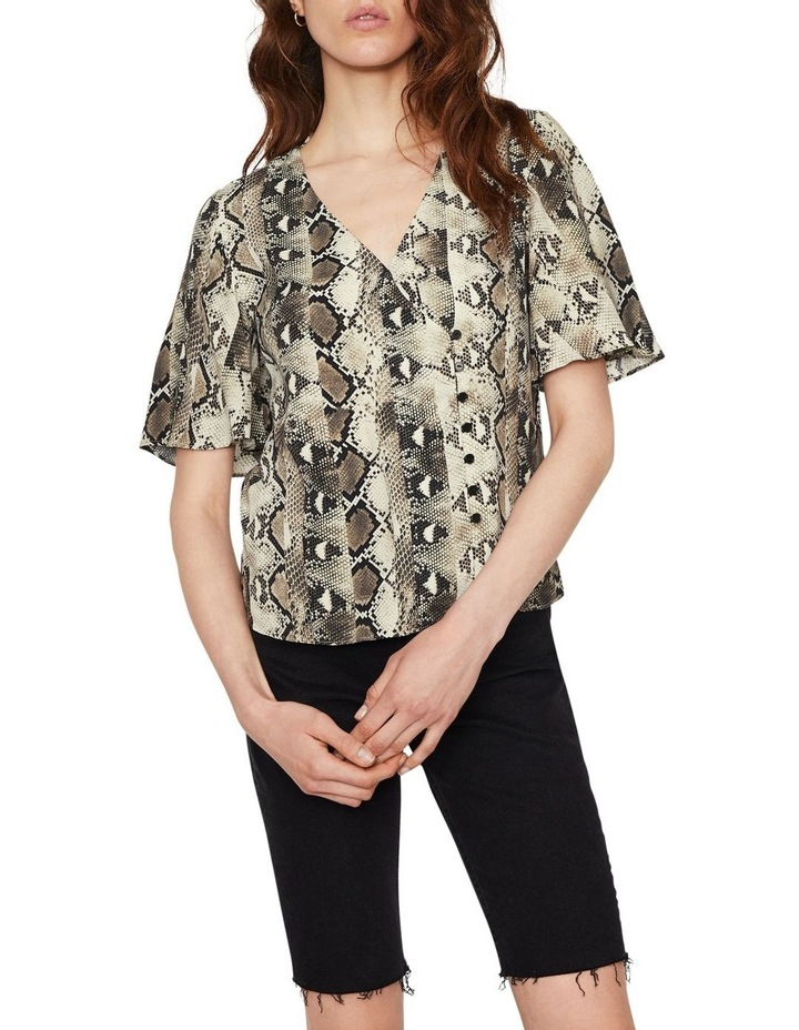 Snake Tie Front Shirt image 1