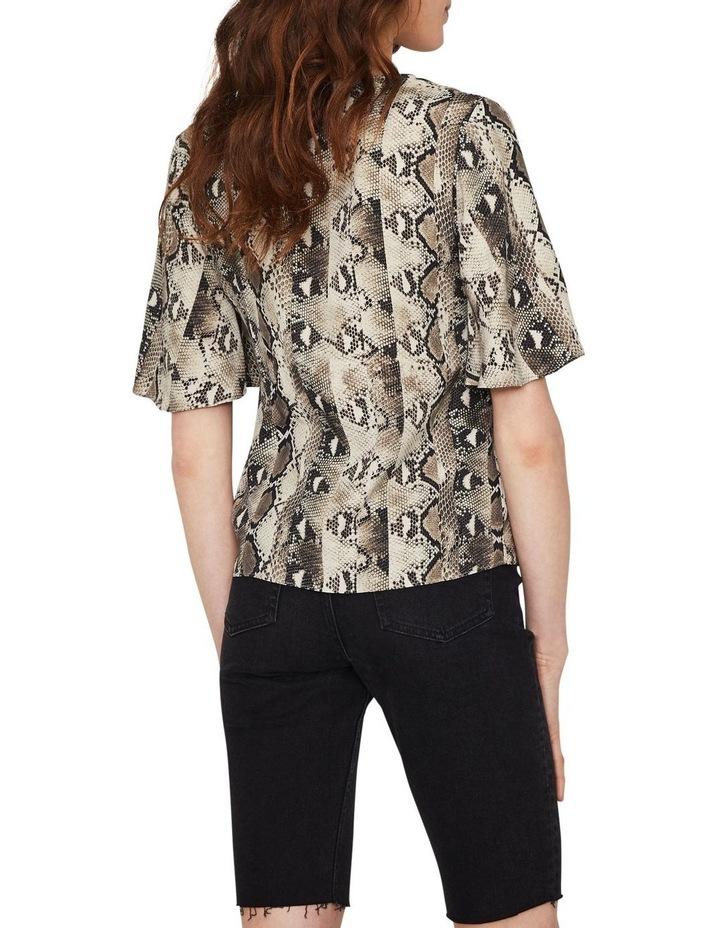 Snake Tie Front Shirt image 2