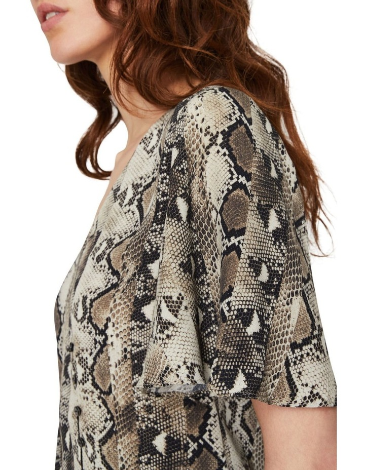 Snake Tie Front Shirt image 3