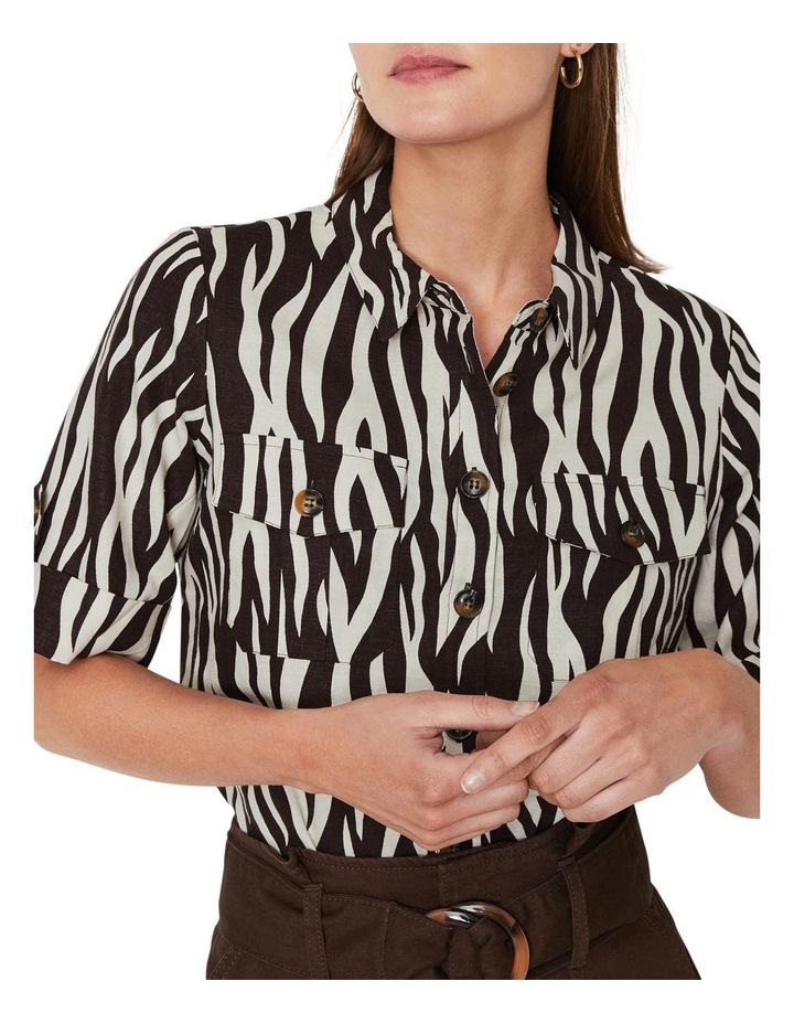 Zebra Short Sleeve Shirt image 1