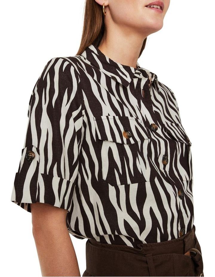 Zebra Short Sleeve Shirt image 3