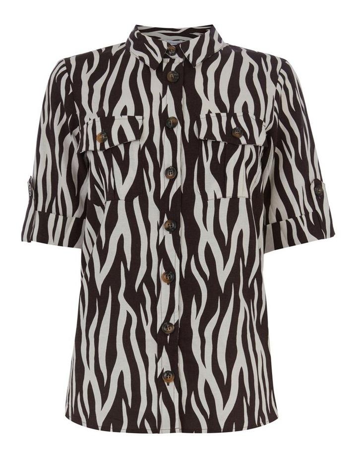 Zebra Short Sleeve Shirt image 4