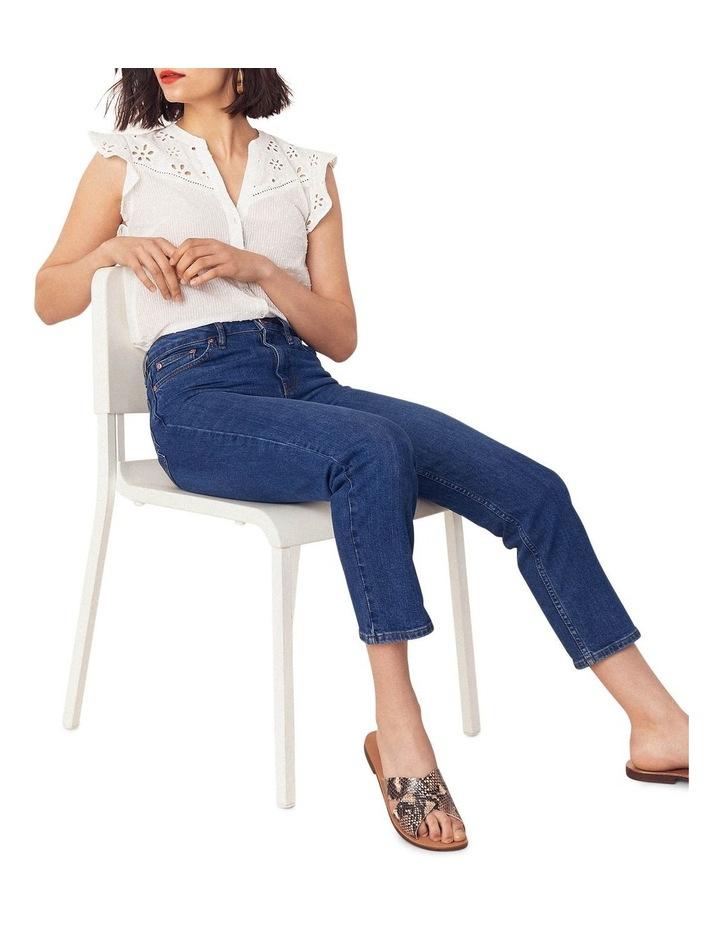 Broderie Trim Textured Shirt image 4