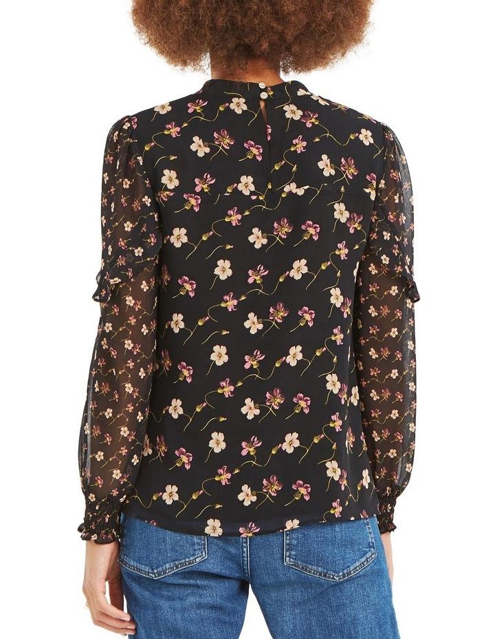 d572979e0b71 Oasis | Freida Floral Patched L/S Chiffon Top | MYER