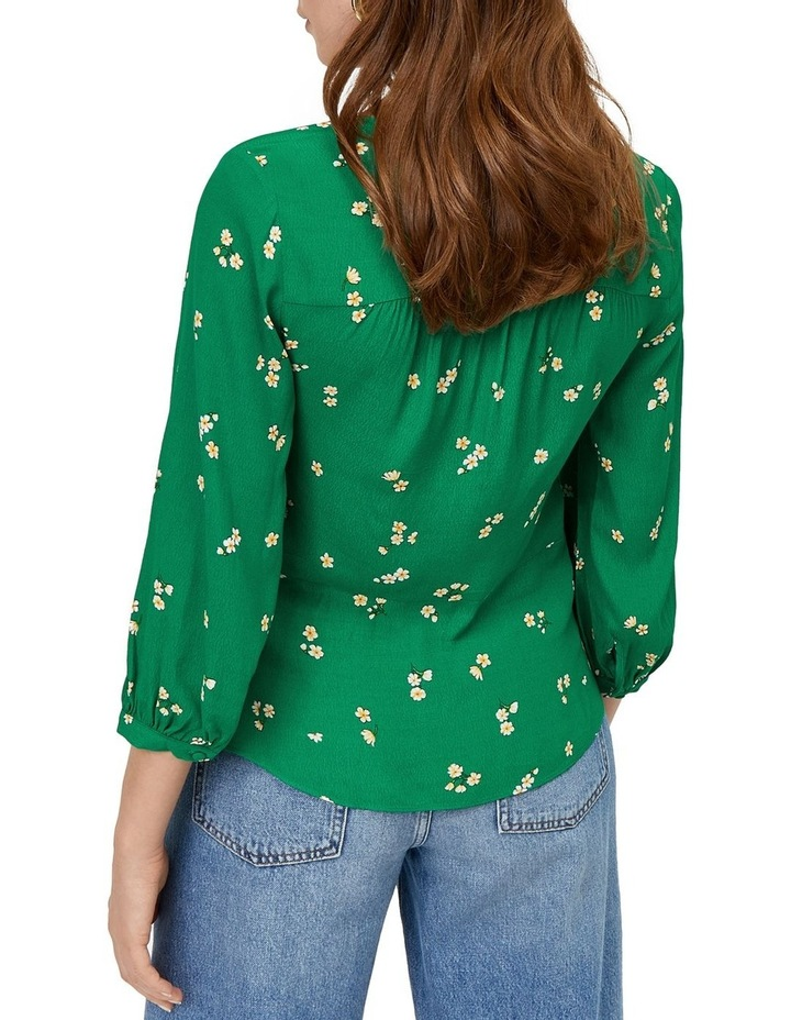 Verity Ditsy Floral Button Front Top image 2