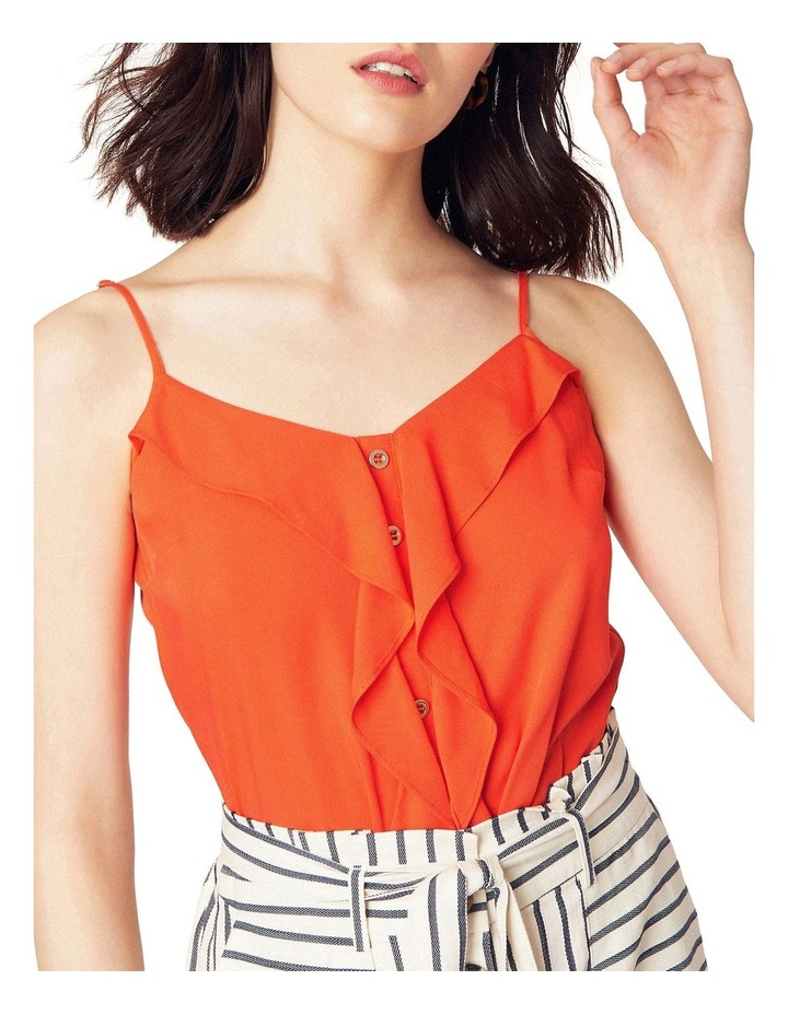 Button Frill Front Cami image 1