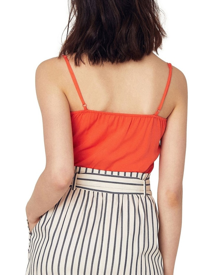 Button Frill Front Cami image 2