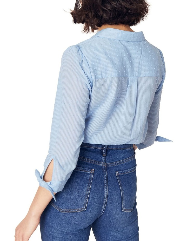 Long Sleeve Dobby Cotton Shirt image 2