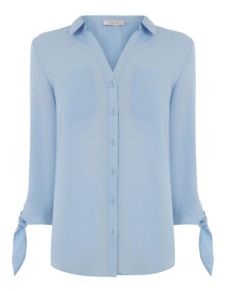 Long Sleeve Dobby Cotton Shirt image 3