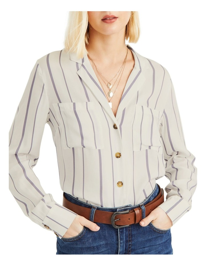 Viscose Linea Stripe Shirt image 1