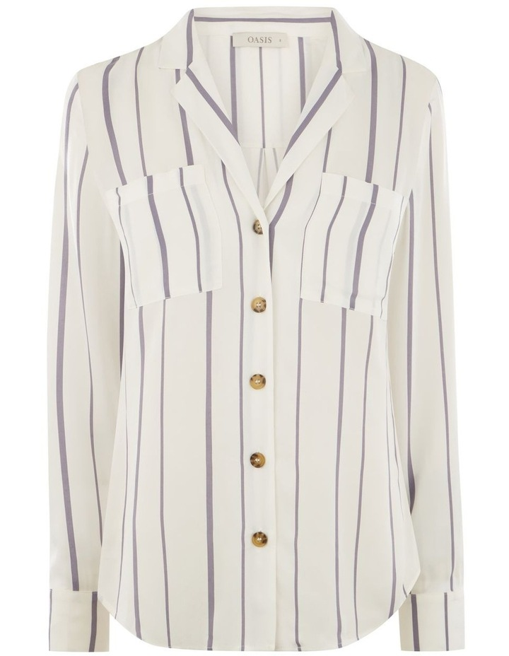Viscose Linea Stripe Shirt image 4