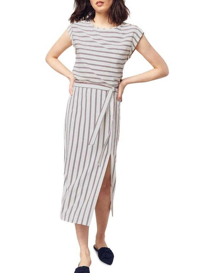 Linen Roll Sleeve Tee image 3