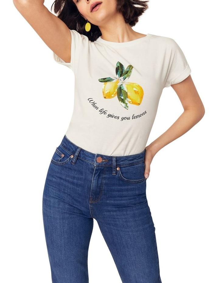 Lemon Slogan Tee image 1