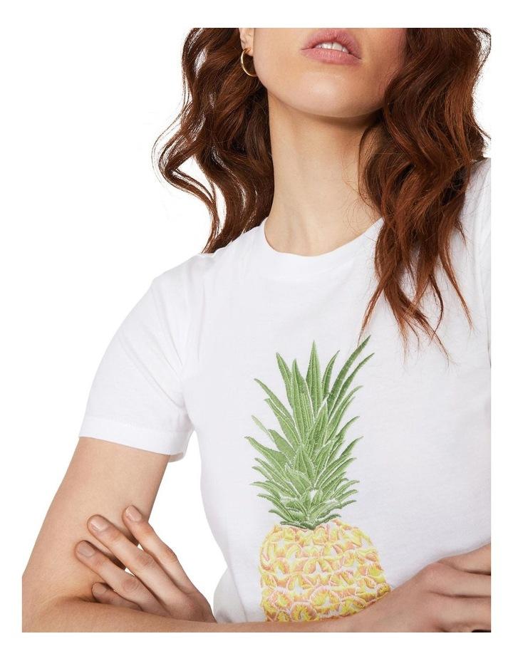 Pineapple Embroidered Tee image 3