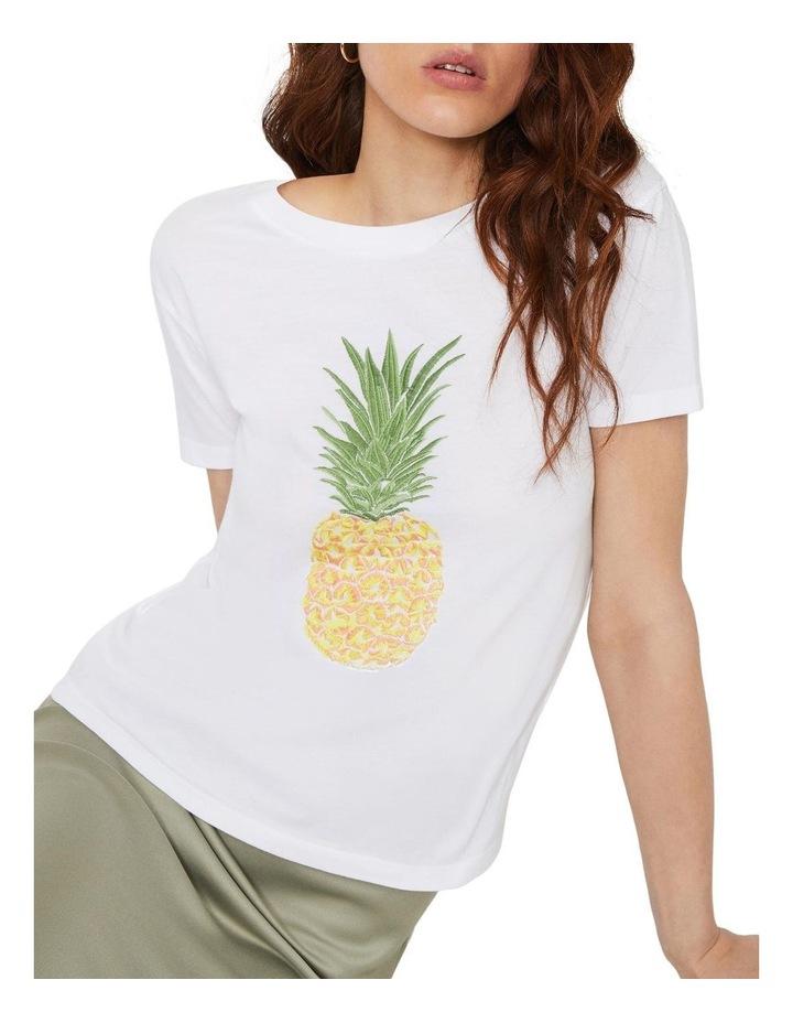 Pineapple Embroidered Tee image 4