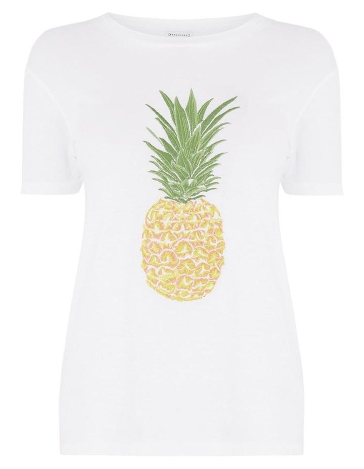 Pineapple Embroidered Tee image 5