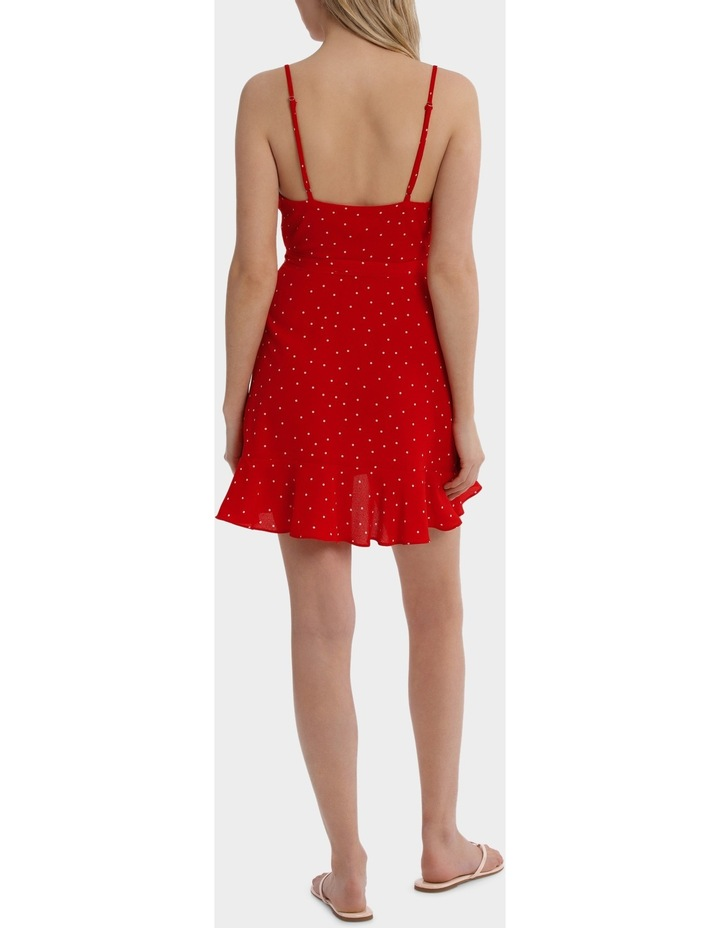 Raquel Spot Ruffle Dress image 3