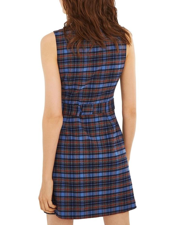 Blue Check Shift Dress image 2
