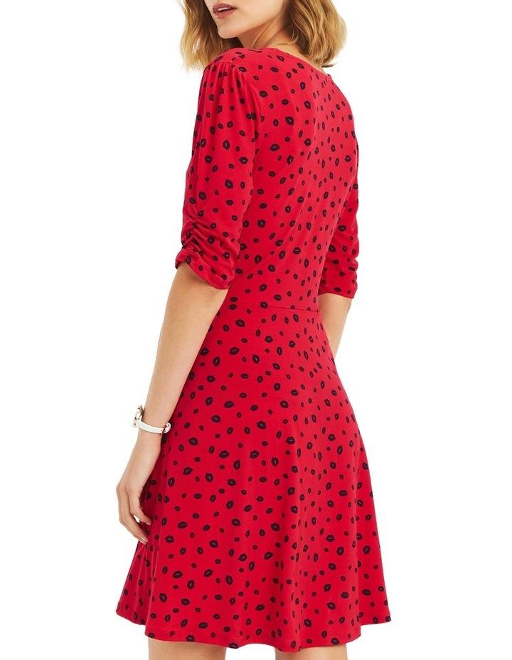 020c8bb586e Lip Print Ruffle Dress image 2