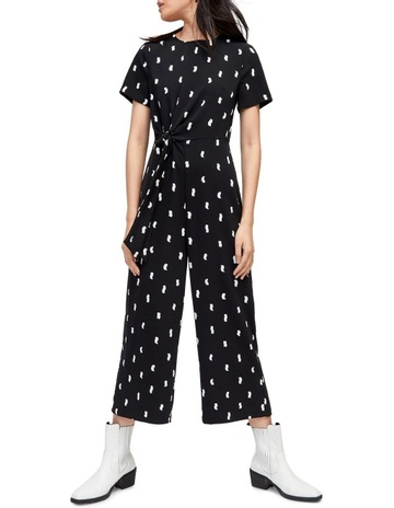 a62a2c985cc Warehouse Brushstroke Print Jumpsuit