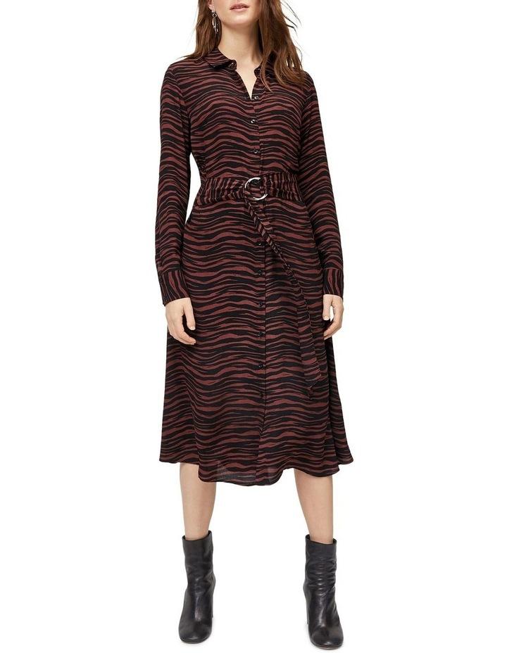 f28a4db092af Warehouse   Animal Print O-Ring Shirt Dress   MYER