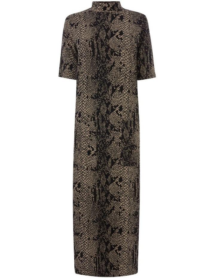 Snake Print Pocket Dress image 4
