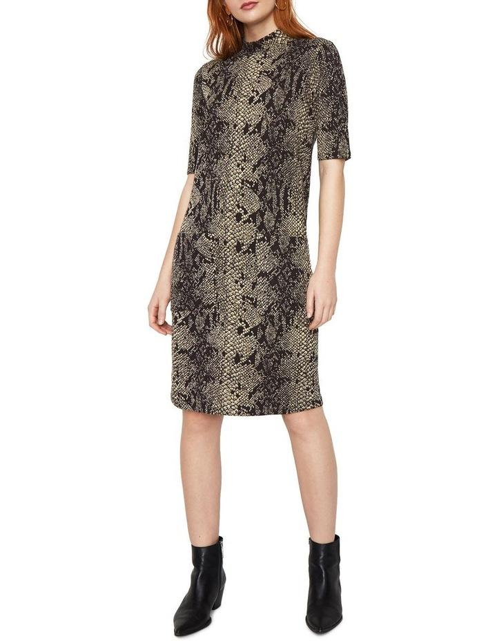 Snake Print Pocket Dress image 5