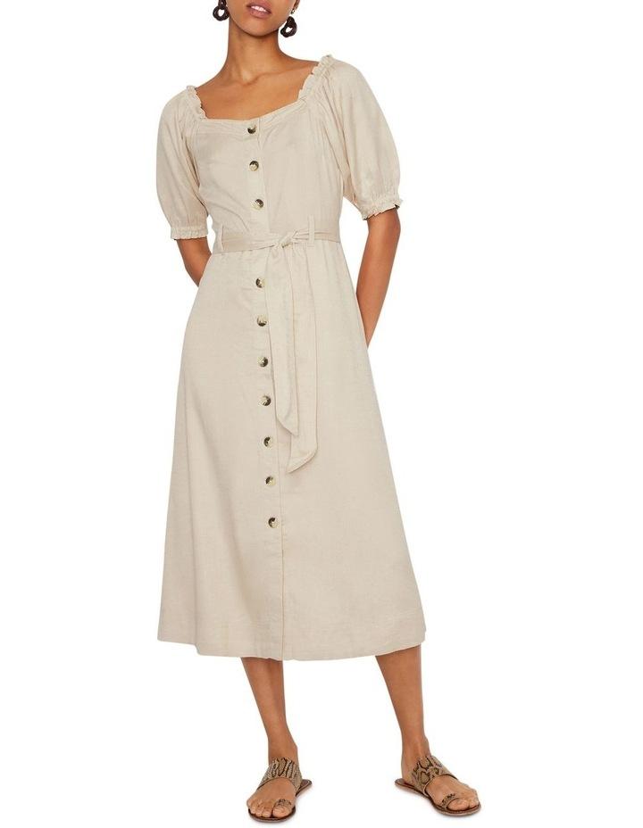 Top Stitch Square Neck Dress image 1