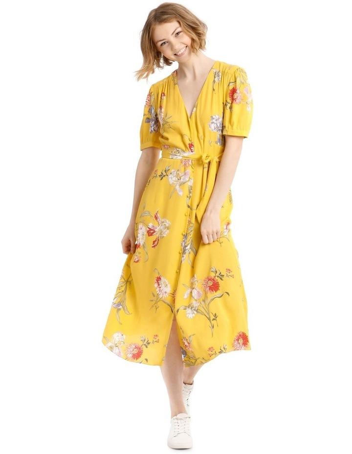 Iris Floral Tea Dress image 1