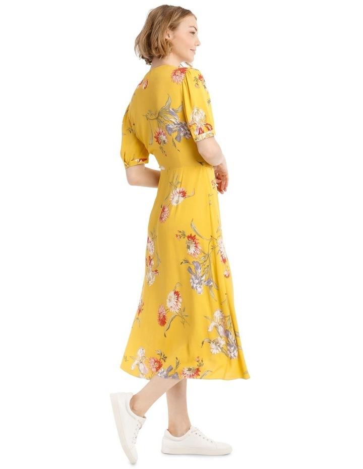 Iris Floral Tea Dress image 2